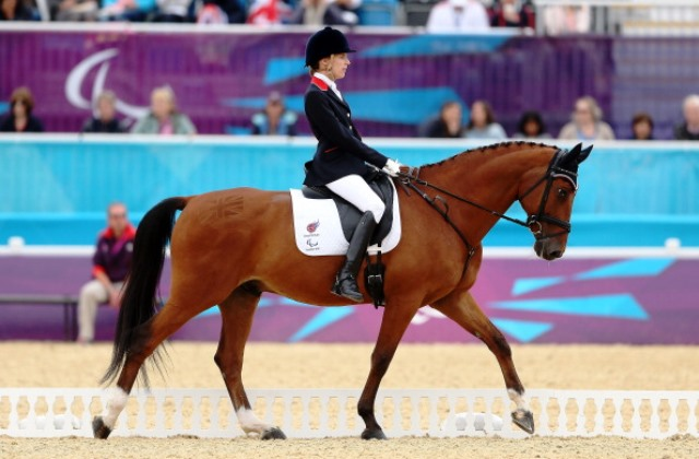 Sophie Christiansen is part of a strong British team set to take part in Para-dressage events at the World Equestrian Games ©Getty Images