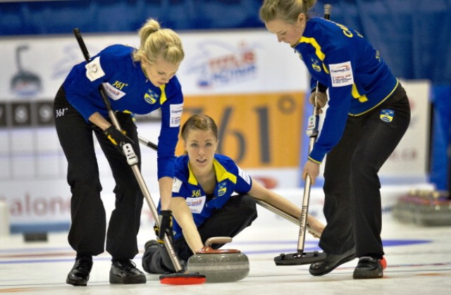 Specially selected trainees will have the opportunity to work at the Women's Curling World Championships in Japan next March ©AFP/Getty Images