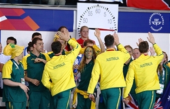 Swimming Australia President John Bertrand says the behaviour of the team's swimmers at Glasgow 2014 was a credit to the sport ©Getty Images