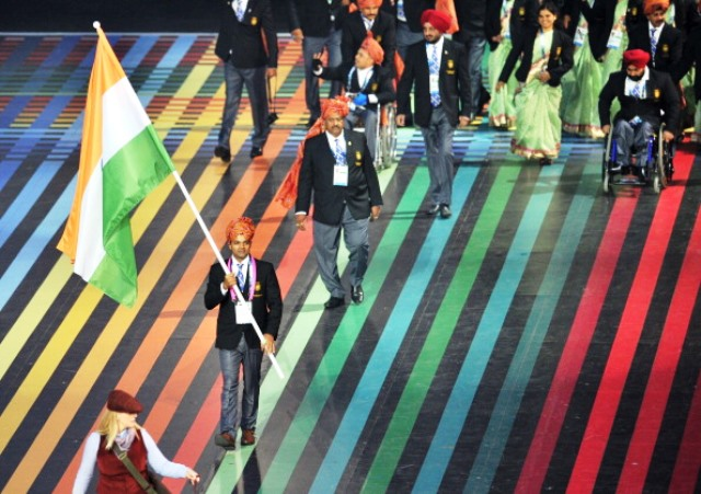 Syringes were found in the rooms of some members of the Indian team at the Glasgow 2014 Commonwealth Games ©AFP/Getty Images