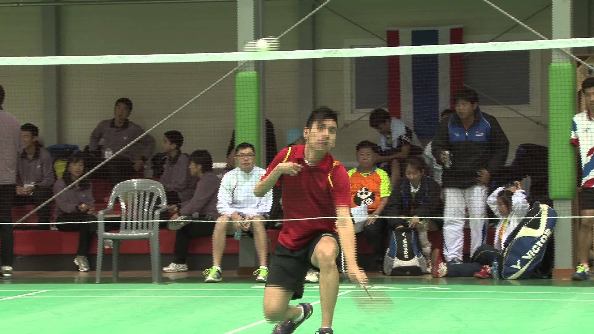 Singapore's Tay Wei Ming claims that he has been inspired by Para-badminton ©YouTube