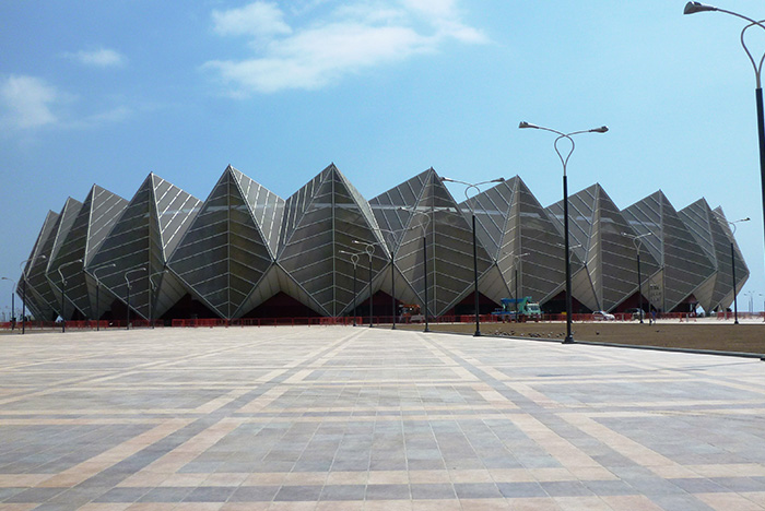 The Baku Crystal Hall was constructed in just eight months ©Baku 2015