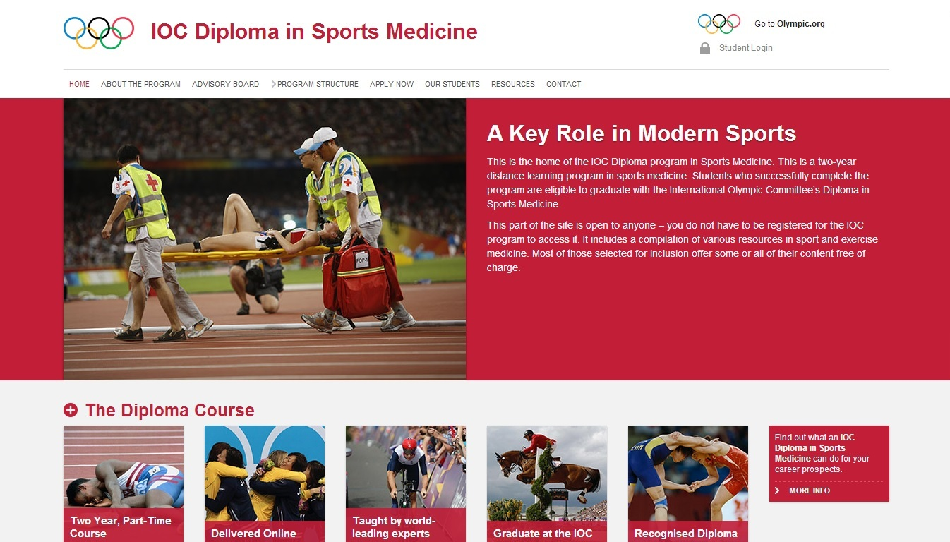 The Colombian Olympic Committee has called for applications for the IOC Diploma in Sports Medicine ©IOC