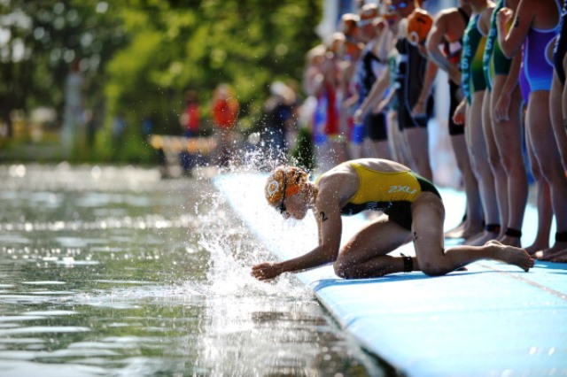The ITU Cross Triathlon World Championships took place in Zittau, Germany ©Getty Images