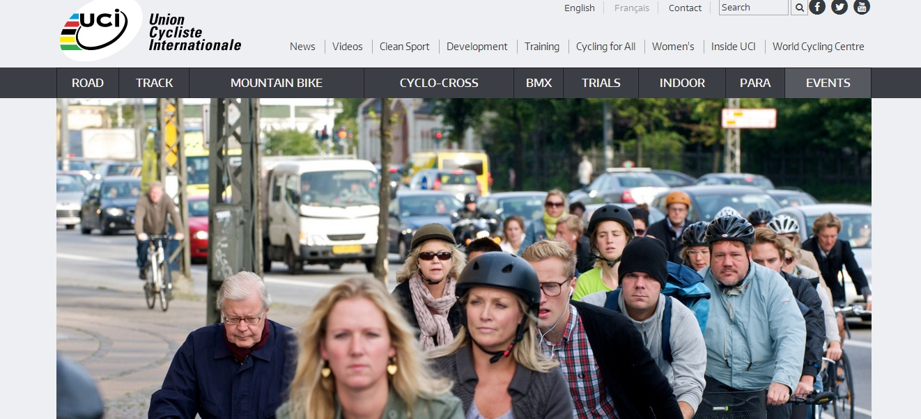 The International Cycling Union has launched a new website which it hopes will connect fans all over the world ©UCI