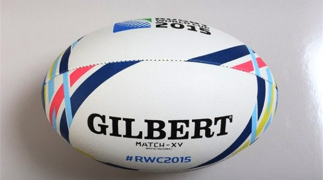 The MATCH XV ball to be used at the Rugby World Cup 2015 is set for its competitive debut later this month ©Rugby World Cup Limited