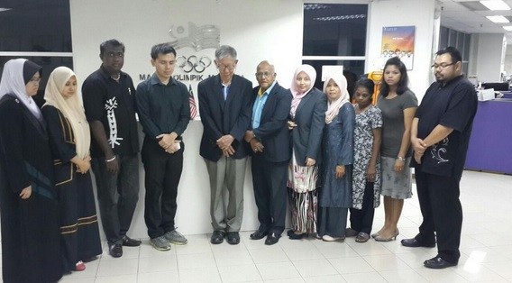 The Olympic Council of Malaysia joined in the nationwide minute's silence ©NOC Malaysia/Twitter
