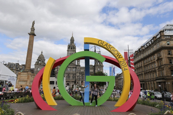 The Scottish Parliament has paid tribute to the success of Glasgow 2014 ©Getty Images