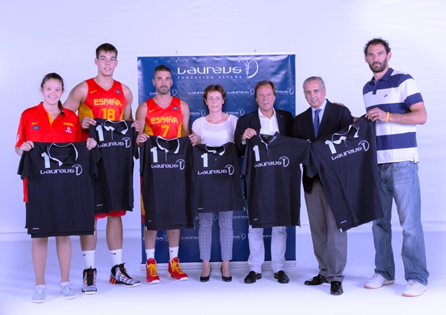 The Spanish Basketball Federation and the Laureus Foundation have announced a new ambassadorial role for Spanish players ©Laureus