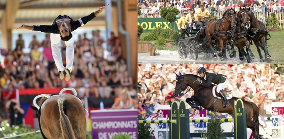 The definite entries have been confirmed for all disciplines at FEI World Equestrian Games 2014 in Normandy ©FEI