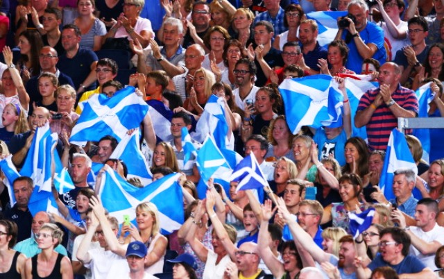 The success of the Glasgow 2014 Commonwealth Games was helped by the exploits of the Scottish team who were cheered on by enthusiastic fans ©Getty Images