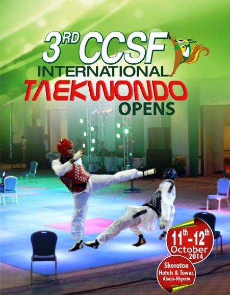 The third edition of the CCSF International Taekwondo Tournament was due to take place in Nigerian capital Abuja but has been postponed due to the Ebola crisis in West Africa ©CCSF