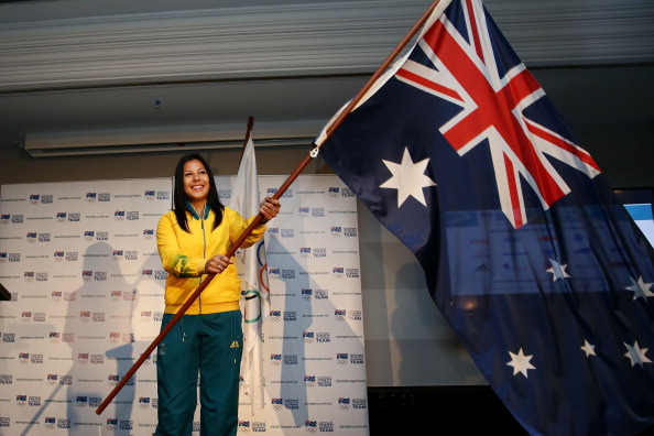 Tiana Penitani has been named Flagbearer for the Australian Youth Olympic team for Nanjing 2014 ©Getty Images