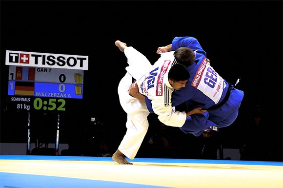 Tissot is also a partner for the SportAccord World Combat Games ©SportAccord