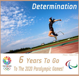 Tokyo 2020 have marked six years to go until the start of the Paralympics by celebrating the values of the Games ©Tokyo 2020/Twitter