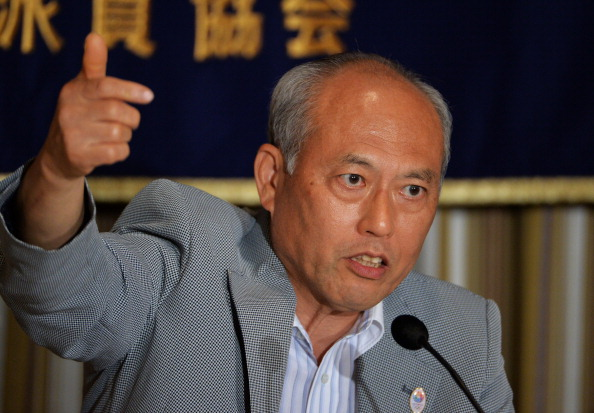 Tokyo Governor Yoichi Masuzoe has spoken enthusaiastically about limiting smoking ahead of Tokyo 2020 ©AFP/Getty Images