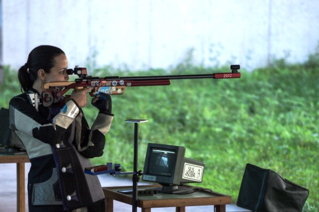 Two demonstration events at the IPC Shooting World Championships have been approved for further development ©AFP/Getty Images