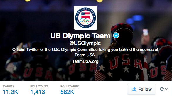 Twitter and Facebook have become key ways for many organisations involved in the Olympics to spread their message ©USOC
