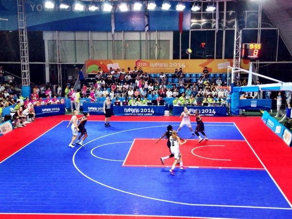 United States enjoy another win in 3x3 basketball ©Twitter