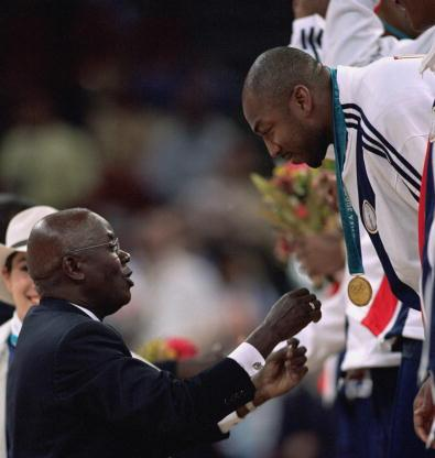 Vin Baker's Sydney 2000 Olympic gold medal has sold for $67,643 at auction ©Getty Images