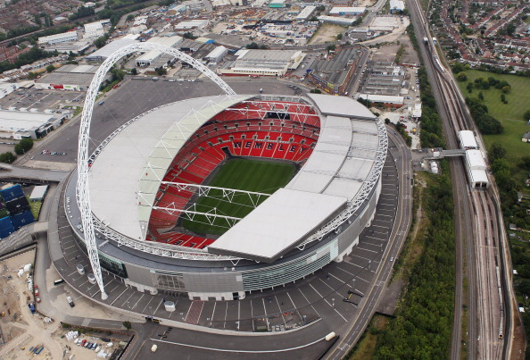 Wembley Stadium would be the only venue left bidding to stage the semi-finals and final of Euro 2020 if Munich pull out ©Getty Images