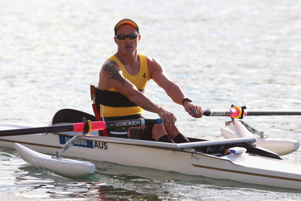 Australia's Erik Horrie retained his AS men's single scull title at the World Rowing Championships in Amsterdam  ©Bongarts/Getty Images