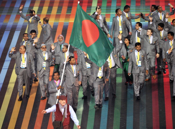 Bangladesh have disappointed at recent major Games, winning just one medal, a silver, at Glasgow 2014 ©Glyn Kirk/AFP/Getty Images