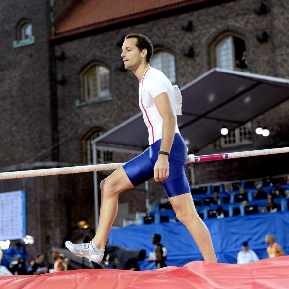 World pole vault record holder Renaud Lavlllenie experiences a rare defeat in Stockholm ©AFP/Getty Images