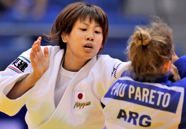 Japanese teenager Ami Kondo claimed the women's under 48-kilogram title at the World Judo Championships ©AFP/Getty Images