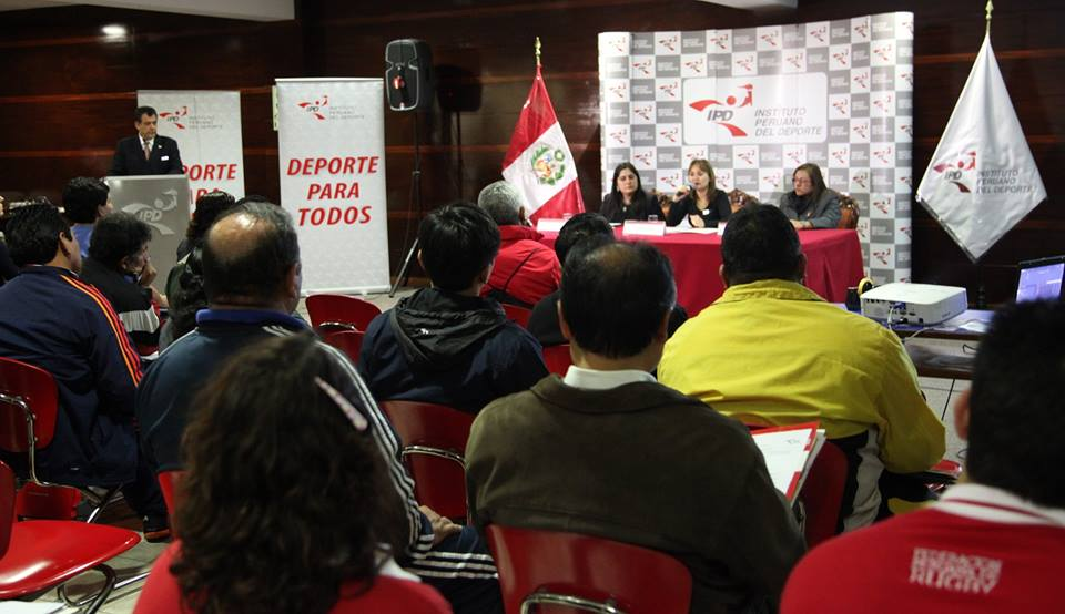 An international workshop has been held in Peru to support the inclusion in sport ©POC