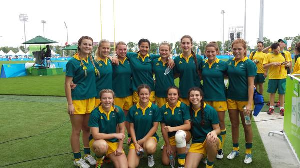 Australia girls rugby sevens team have continued their good form ©Twitter