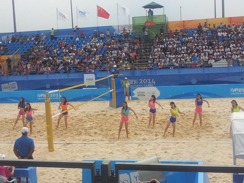 Beach volleyball was our first stop ©ITG