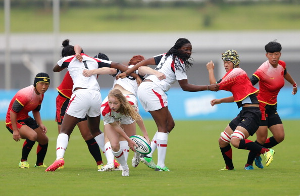 China beat Canada in a momentous Youth Olympic Games debut for rugby sevens ©Getty Images
