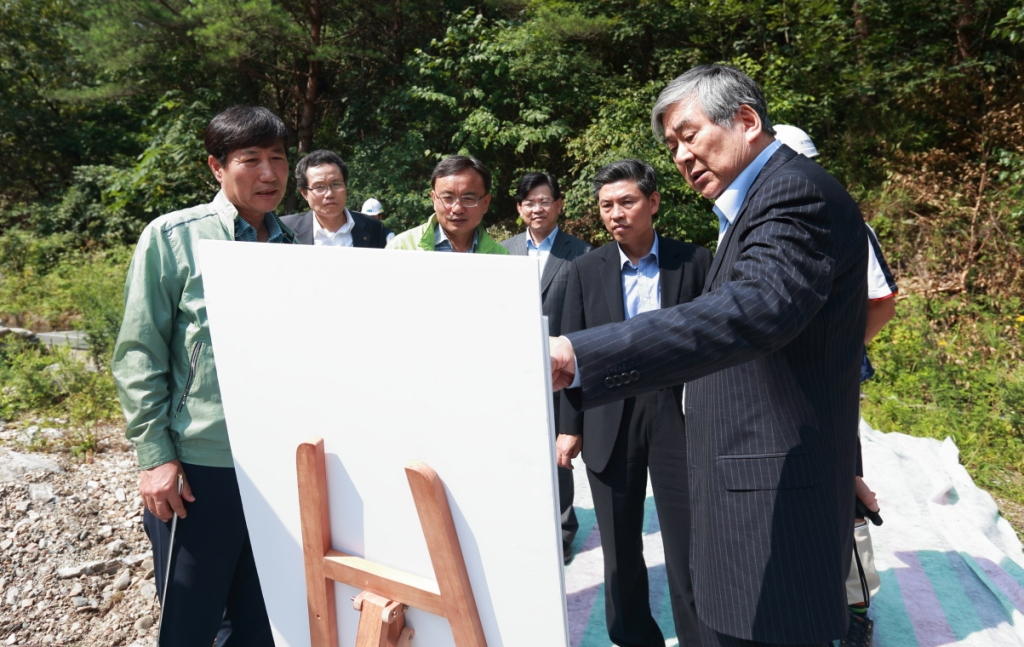 Cho Yang-ho took over as head of Pyeongchang 2018 on July 31 in order to keep his promise to the IOC and deliver a successful Winter Olympic and Paralympic Games ©Pyeonchang 2018
