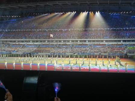 Countdown to the beginning of the Closing Ceremony ©ITG