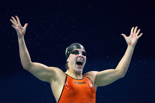 Delight for Liliana Sziagyi as pool provides gold aplenty on day two of Nanjing 2014 ©Getty Images