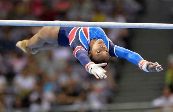 Ellie Downie leads after qualifying in gymnastics ©Twitter