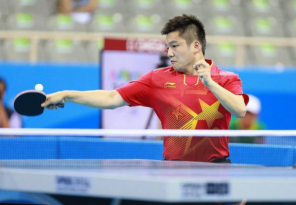 Fan Zhendong's world-class status told eventually as he battled to the singles title ©ITTF