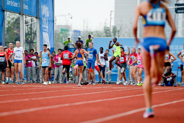 Innovations like the 8x100m relay race were massively popular with the 500 or so athletes competing in Nanjing ©Getty Images