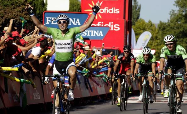 John Degenkolb has won his second successive stage leg at the Vuelta a Espana ©AFP/Getty Images