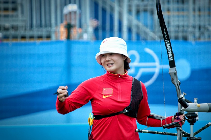 Li Jiaman won gold in thrilling fashion ©World Archery