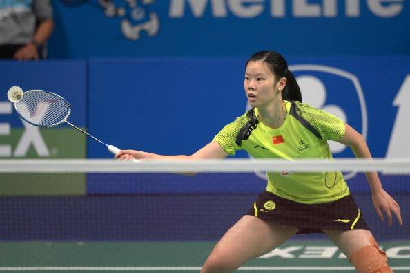 Li Xuerui has spoken about the mental heartbreak of losing last year's final ©AFP/Getty Images