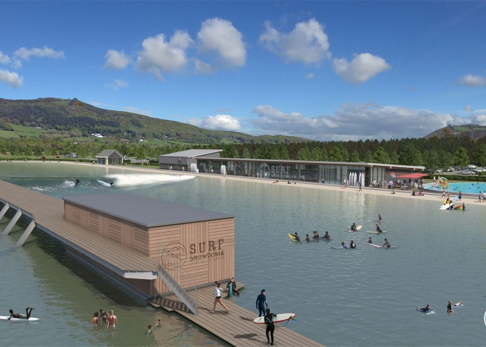 New facilities such as the one in Snowdonia will make surfing possible at every Olympic Games ©ISA