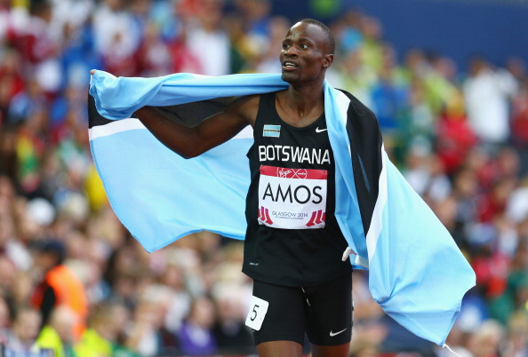 Nijel Amos backed up gold at the Glasgow 2014 Commonwealth Games with another 800m win at the African Athletics Championships ©Getty Images