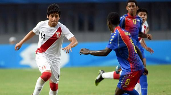 Peru have come from behind to beat Cape Verde in the men's football semi-finals ©Twitter
