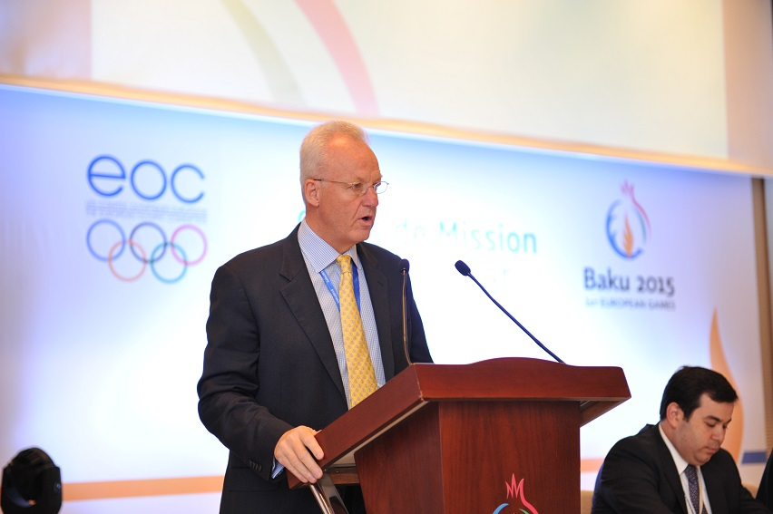 Baku 2015 chief operating officer Simon Clegg is promising to come up with a ticketing strategy that ensures full stadia at the first ever European Games next year ©Baku 2015