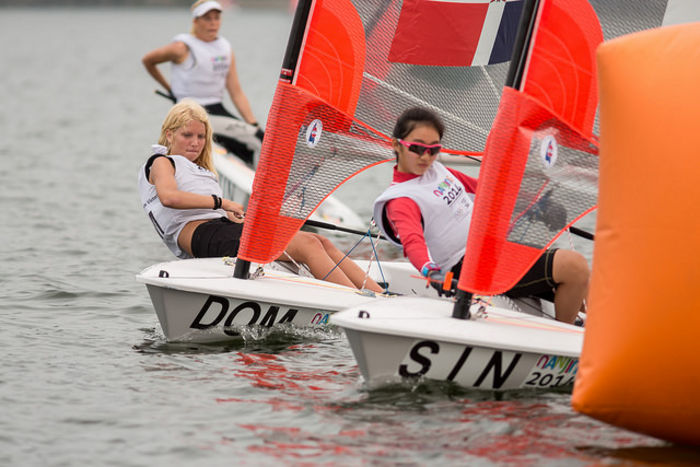 Singapore managed double gold in the dinghy classes ©ISAF