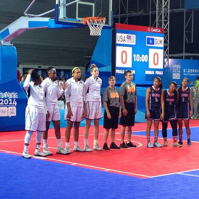 The United States have dominated the women's 3x3 basketball ©Facebook