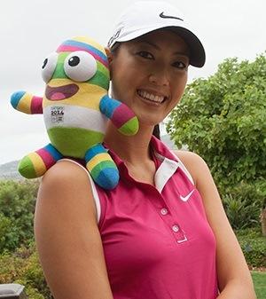 US Golfer Michelle Wie ©IOC/Natalie Fiteni