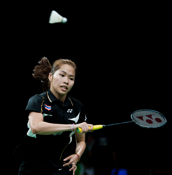 Women's singles badminton world champion Ratchanok Intanon is out of contention for the title this year ©Getty Images